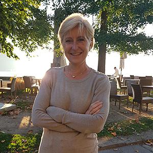 Catherine Café de la Poste à Cully